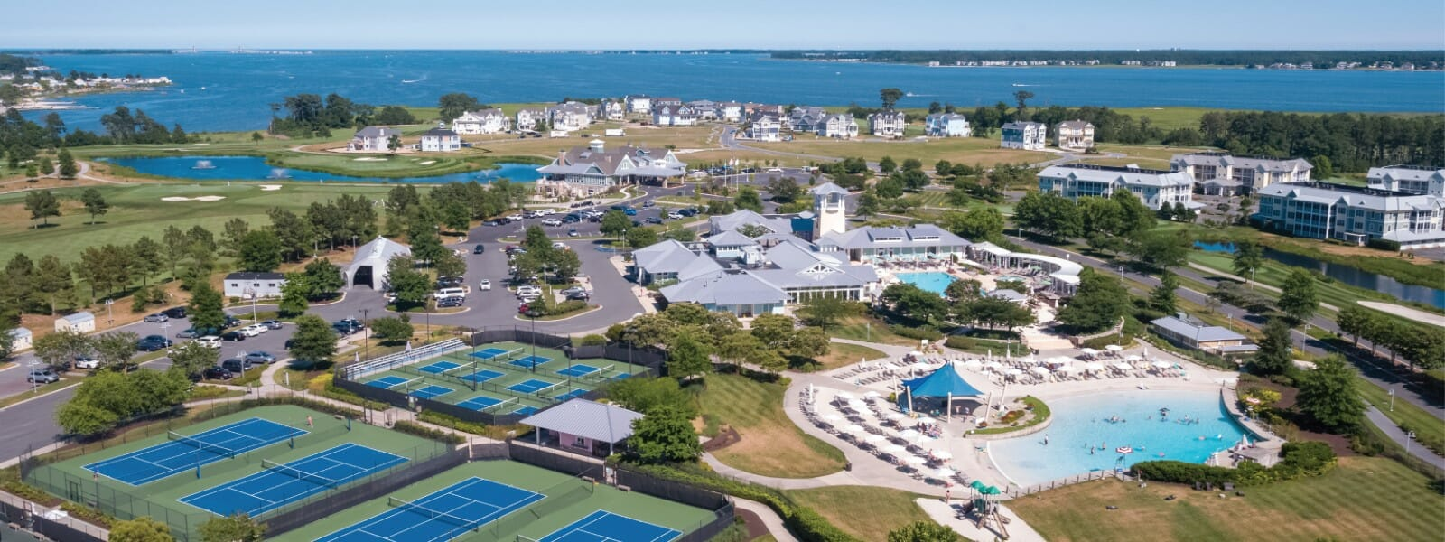 Delaware Gated Communities   The Peninsula on Indian River Bay