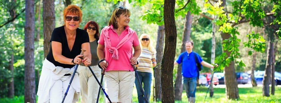 Hiking and Walking Retirement Communities