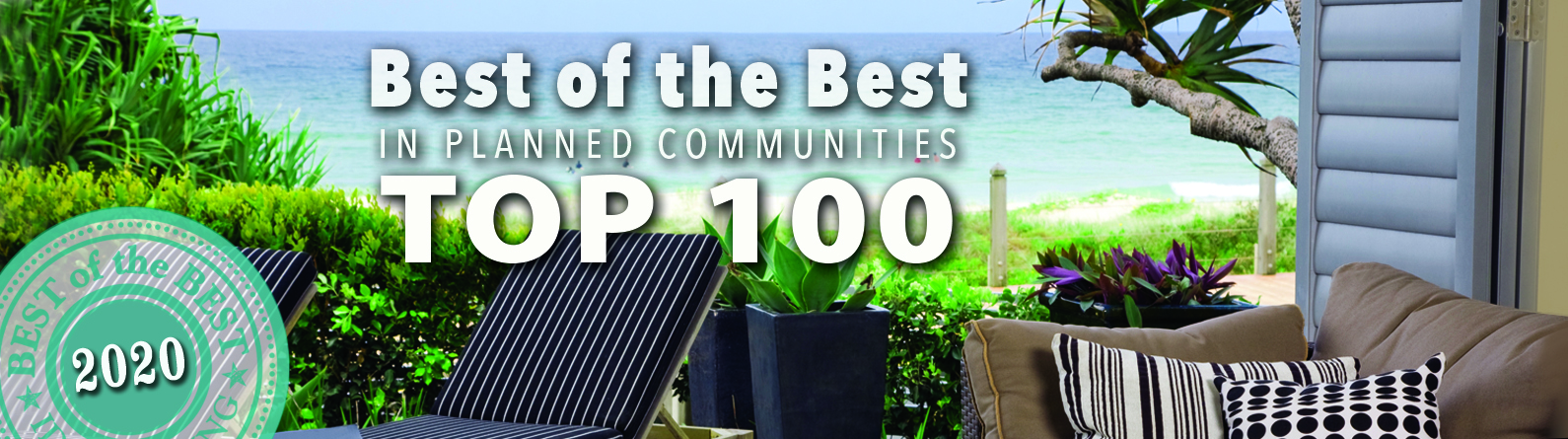 2020 Best of the Best in Planned Communities