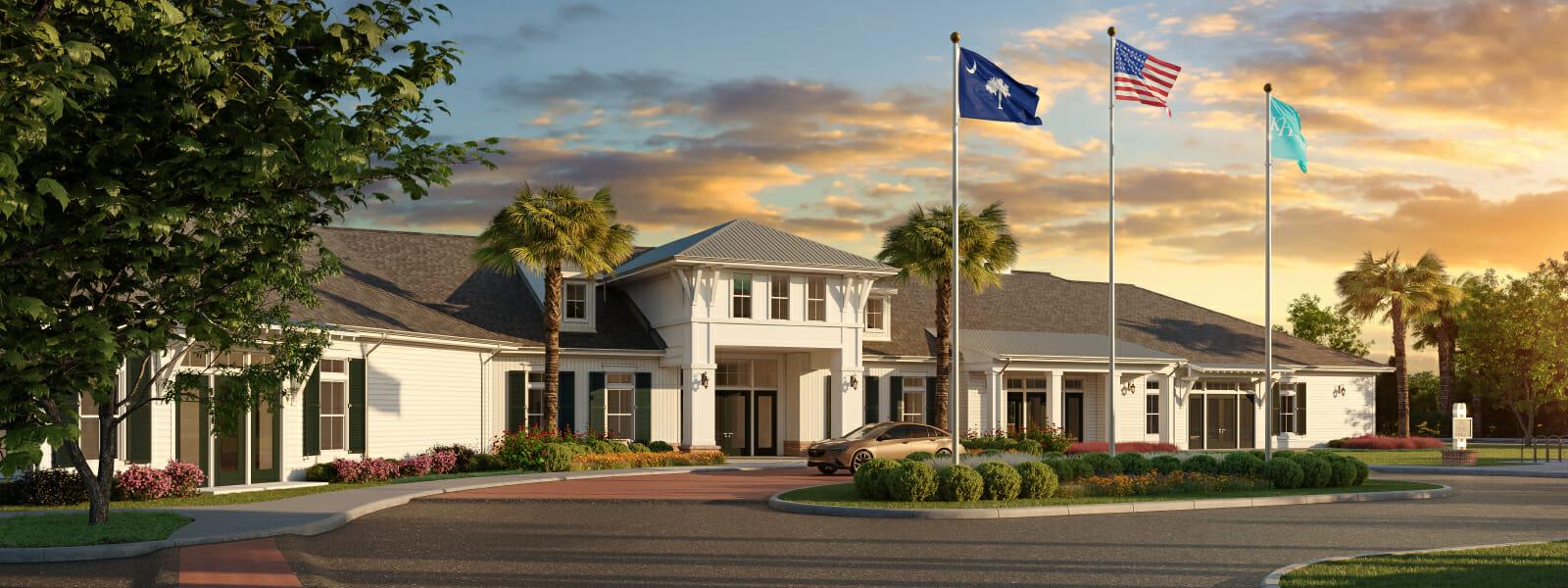 55+ Community Bluffton SC | K. Hovnanian at Carolina Oaks | Coastal