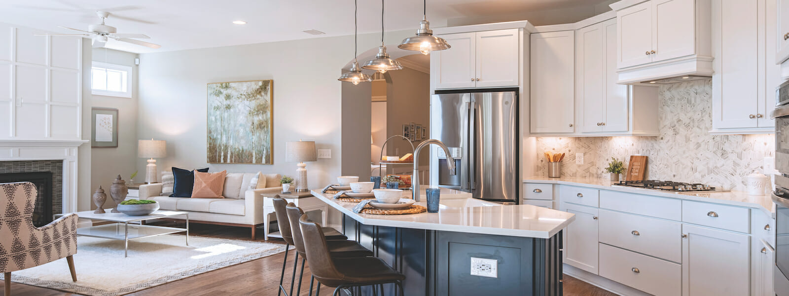 55+ Homes near Charlotte NC | The Courtyards at Eastfield Farm